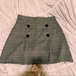 Plaid skirt! 90s